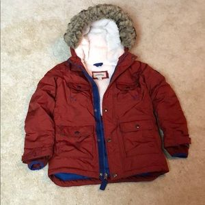 Lands End boys winter coat